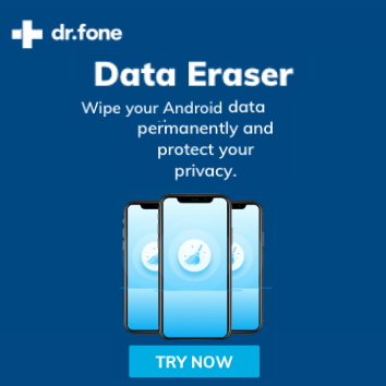 dr.fone-Data Eraser - Android